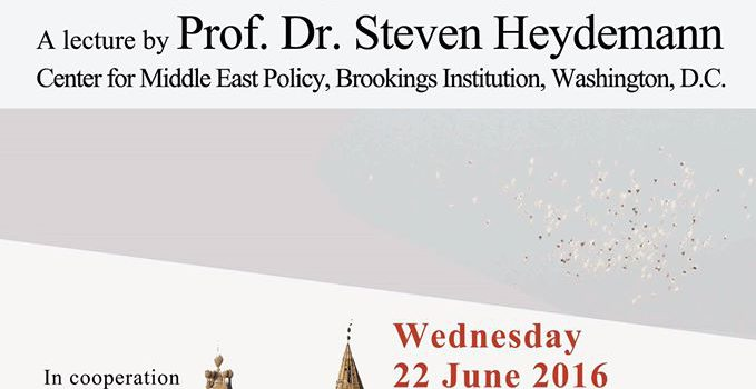 Open Lecture – Obama's Middle East Policy